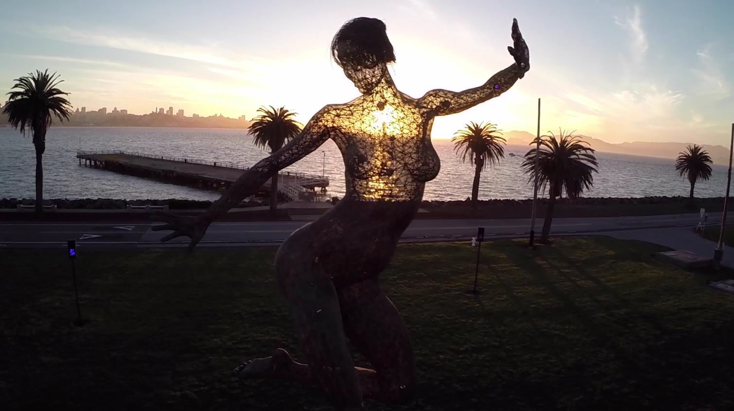 Sunset at San Francisco's Treasure Island
