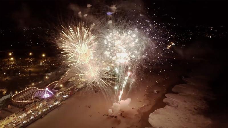 Santa Cruz Wharf Centennial Fireworks