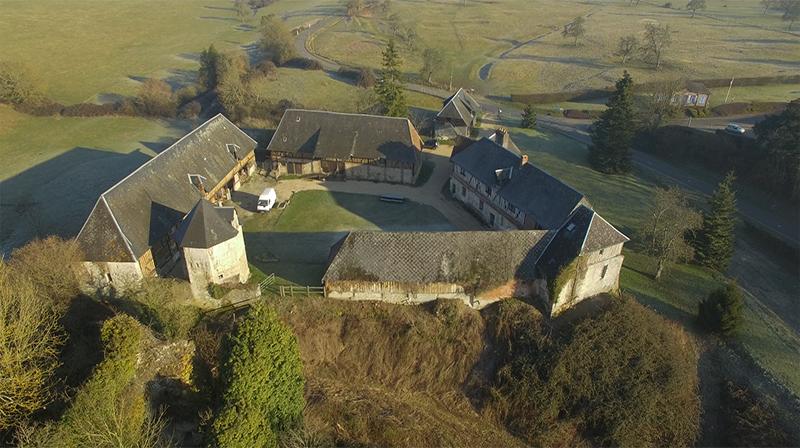 Chateau de Fauguernon, France